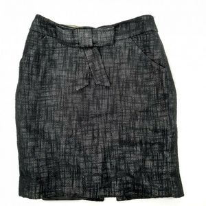 Milly of New York Bow belt Pencil Skirt Size 12
